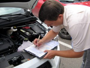 Процесс регистрации авто