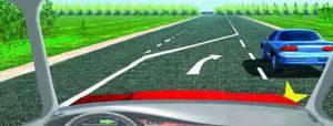 Переход двух полос в одну - нужно уступить дорогу по помехе справа