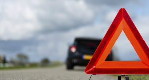 Не забывайте выставлять аварийный знак