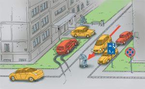 Примеры неправильной парковки